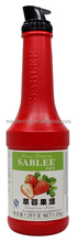 Hot Sale! Natural Fruit Strawberry Puree Made in China for beverage(1.25kg)