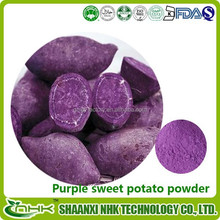 100% natural , medicine and food grade purple sweet potato powder , purple sweet potato
