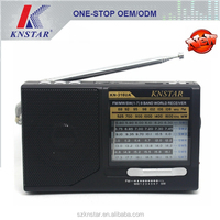 Mini AM/FM/SW1-7 9 bands radio with mp3 player