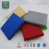 Sound insulation fabric acoustic material for auditorium