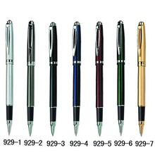 Latest Hot Sale Custom metal triangle roller pens for promotion 929