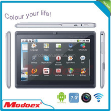 7 inch dual core android 4.4 tablet q88multi color with tablet keyboard case