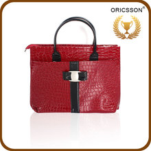 2015 Lady Leather Handbag Ladies Office Woman Hand Bags