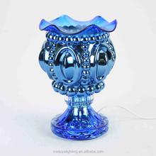 wholesale glass halogen lamp electric incense burner luxury fragrance lamp G1755