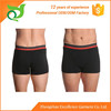 Fashion style smart cotton cool black boxers for men