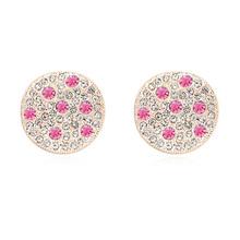 en forma de estrella de venta al por mayor cuentas de diamante de imitación de bolas de oro pendiente de espárragos
