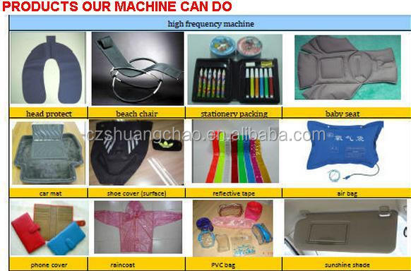 Pedal /pneumatic high frequency PVC welding machine