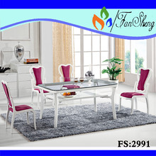 New design modern dining table and chair dining room furniture set FS 2991