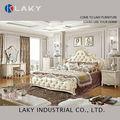 621b# 2014 europea nueva de diseño caro de madera maciza de dormitorio clásico
