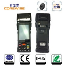 Android 4 inch 3G wifi nfc mobile pos qr code scanner machine