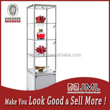 MDF with timber veneer jewelry display cabinets for jewelry shop names