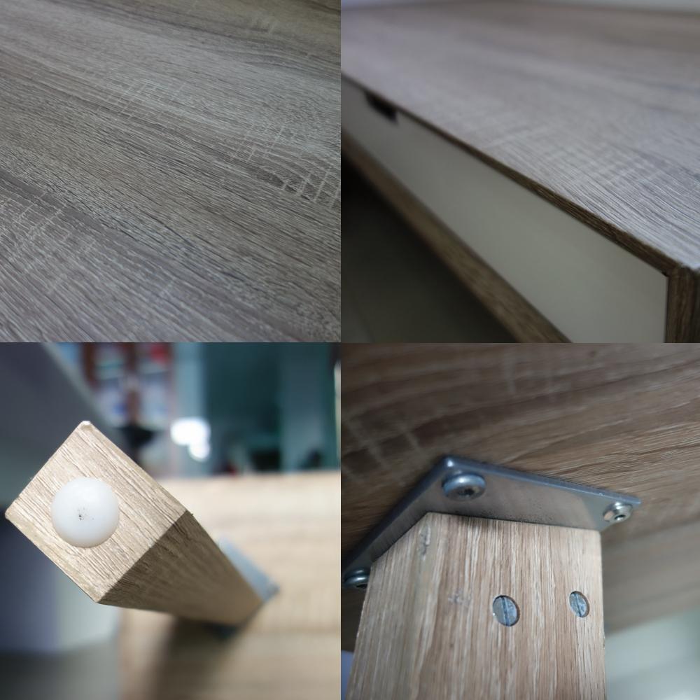 Scandinavische voorraad meubels houten salontafel houten tafels ...