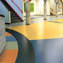 Fashional and worthy basketball ground pvc flooring