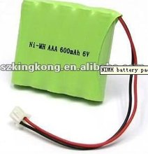 HOT!! AAA NiMH rechargeable battery pack