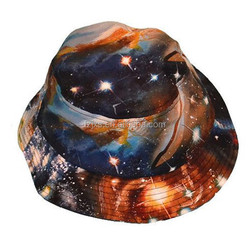 Paypal Accept 100% Cotton Custom Printed Bucket Hats