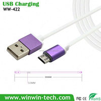 micro usb cable with led light manufacturer Support Data Transfer