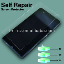 new self repair after scratch / clear screen protector film for Sony Yuga C660X Xperia Z L36i