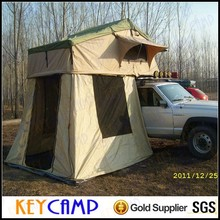 Luxury camping hard top roof tent / canvas camping tents for sale