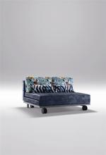 ikea folding sofa bed with wheel /sofa cum bed JM-730#