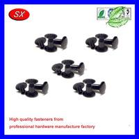 customized Black anodized Aluminum Screw Posts