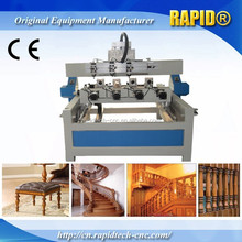 multi heads 4 axis cnc router machine price/CNC router for engraving, carving