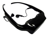 3D video glasses/3D video eyewear/mobile theater/HMD/home theater/MP4 glasses
