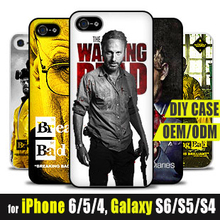 Custom Images Back Cover Case for apple iPhone 6 5 5c Print Your Own Picture Breaking bad