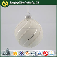Pure white and translucence snow for crafts fiberglass ball