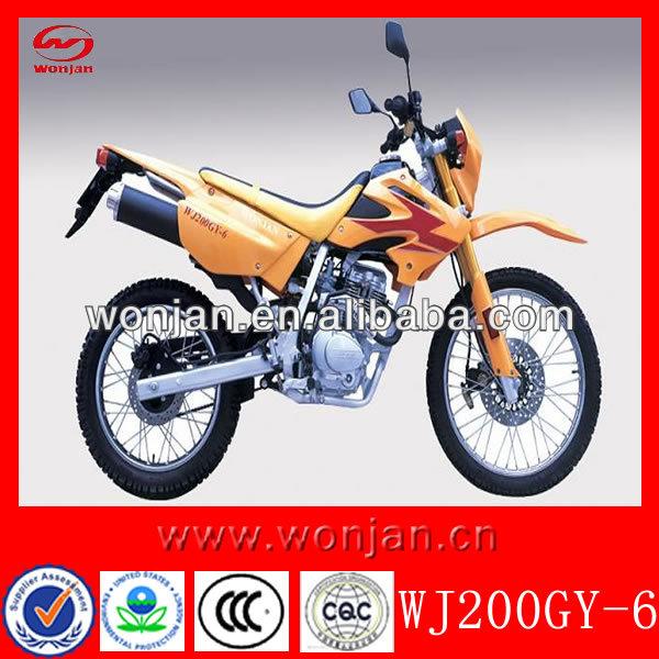 Off- bici da strada sterrata/mostro dirt bike adulto/sporcizia bike 200cc motociclo( wj200gy- 6)