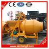 CE Approved JZC500 Mobile Electric Concrete Mixer, Planetary Concrete Mixer Price