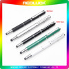 2015 Top selling Free Sample Laser Copper Stylus Pen 3 in 1 Laser Stylus Pen High Precision Universal Business stylus