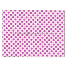 Fashion Polka Dots Design Printed Tissue Paper for Gift, Gift Tissue Paper