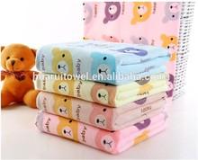 china fornecedor de animais de microfibra toalha de praia impressa