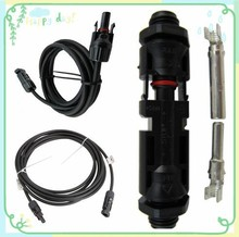 TUV Waterproof IP67 Double Ring MC4 Connector for solar system