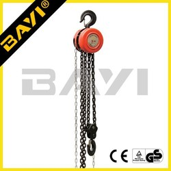 Durable stainless steel chain block chain for above blocks from professional manufacturer
