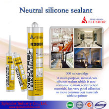 Neutral Silicone Sealant supplier/ silicone sealant for laminated wood/ high temp silicone sealant
