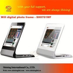 SH0701WF the most beautiful digital photo frames, photo frame/wall mounted acrylic photo frames