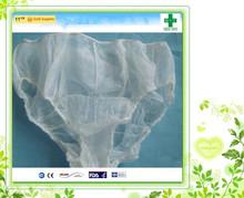 2015 wholesale Nonwoven disposable women thong panties