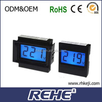 2014 newest reactive power car voltmeter in cigarette lighter (d91-20)