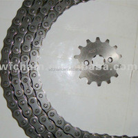 design high quality wholesale motorcycle chain and sprocket kits