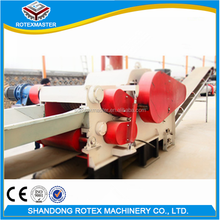 Wood Chips Plant Professional Large Log Drum Wood Chipper