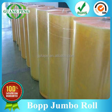 Hot Packaging Materials,Bopp tape / Bopp adhesive tape / Bopp Jumbo Roll For Sealing And Wrapping
