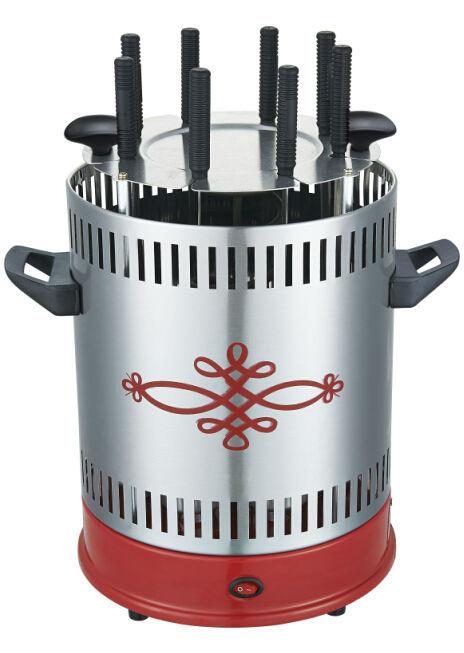 mini lectrique d 39 ext rieur 1500w amovible grill vertical vertical de rotation grill barbecue. Black Bedroom Furniture Sets. Home Design Ideas