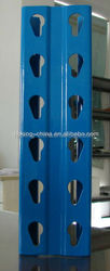 powder coated CE warehouse storage rack American style teardrop rack