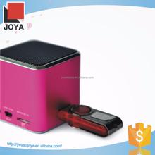 Cute design made in China digital speaker for smart phone protable usb sd card cara membuat speaker aktif mi