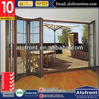 AS2047 Double Glazing Aluminium Bi-folding Door