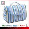 Fashion Hanging Waterproof Polyester Toiletry Bag For Travelling