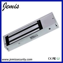 Dc12v/dc24v 500kg/800lbs de vidrio sin marco magnético de la puerta cerraduras( jm- 500gf)