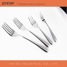 Fashionable new design stainless steel table,dinner, dessert ,tea,fruit fork set