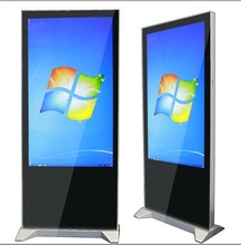 55inch floor standing all in one pc monitor industrial pc computer advertisment